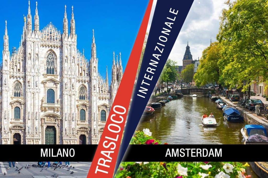 Traslochi Internazionali Milano - Amsterdam