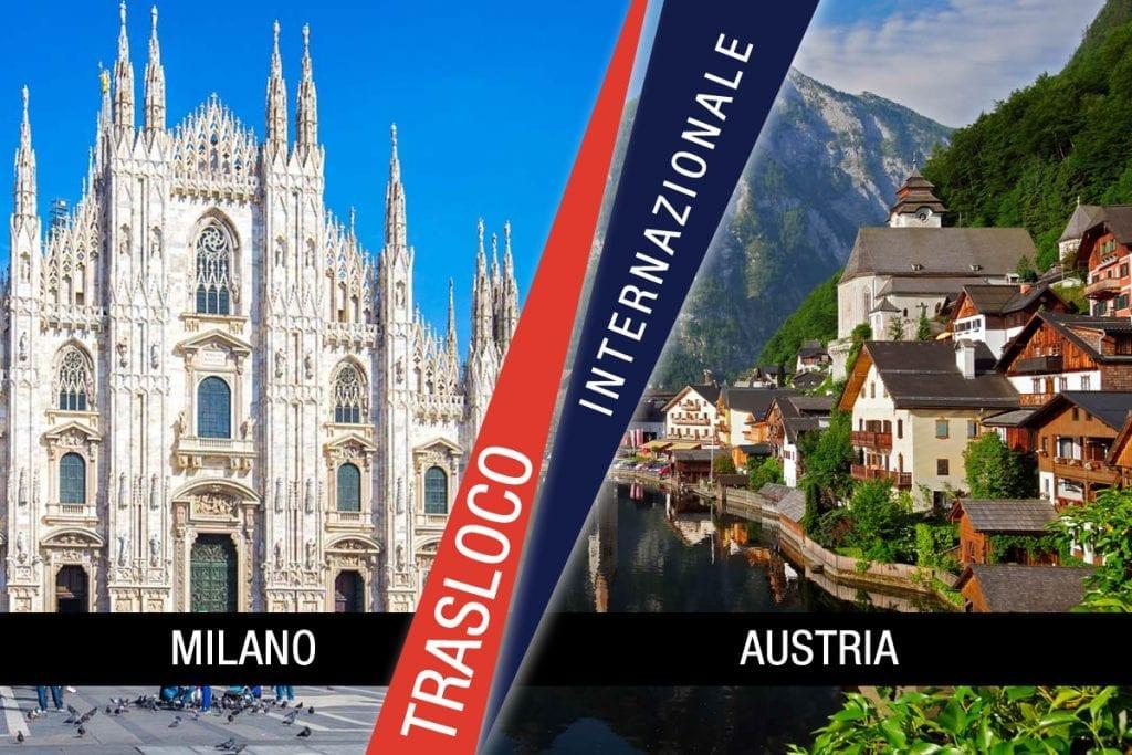 Traslochi Internazionali Milano - Austria