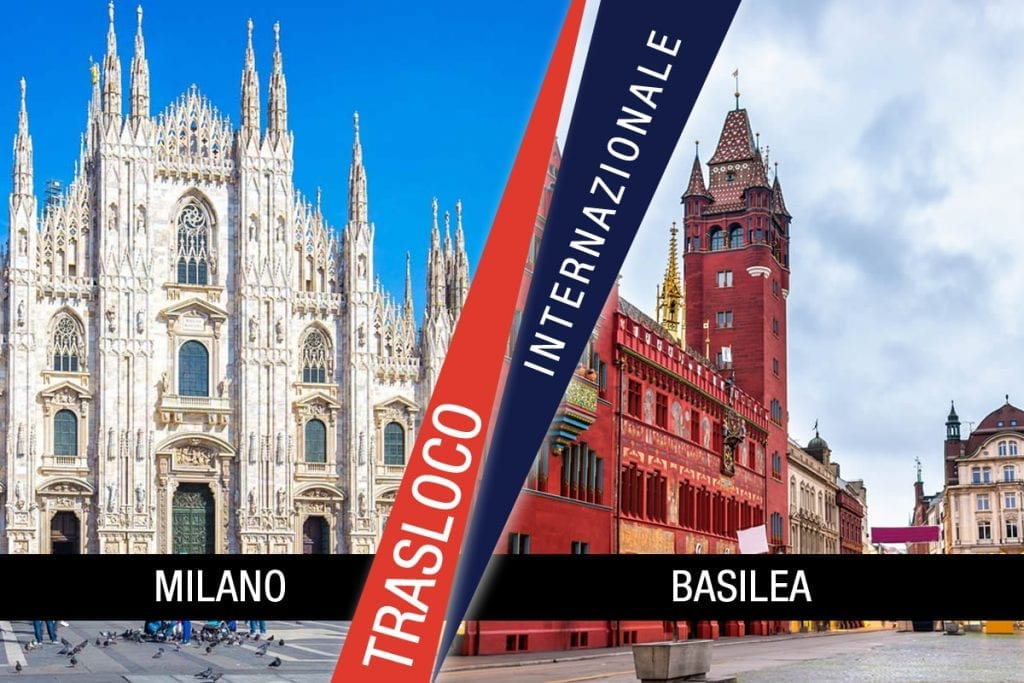 Traslochi Internazionali Milano - Basilea