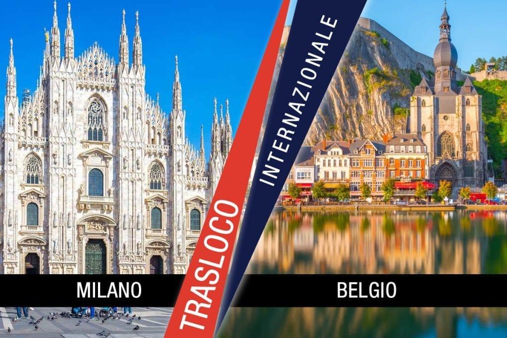 Traslochi Internazionali Milano - Belgio