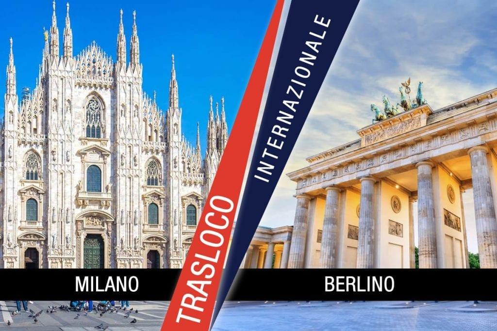 Traslochi Internazionali Milano - Berlino