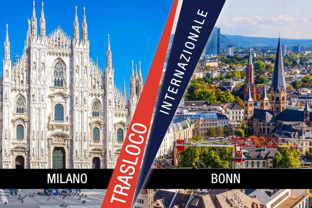 Traslochi Internazionali Milano - Bonn
