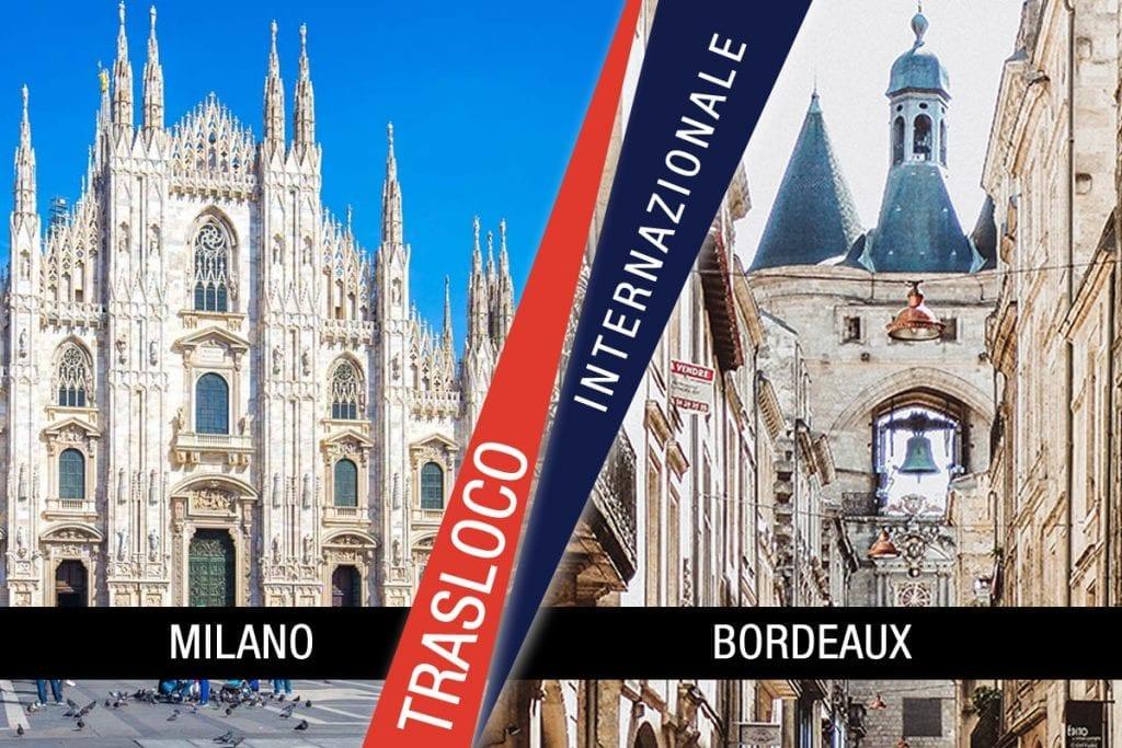Traslochi Internazionali Milano - Bordeaux