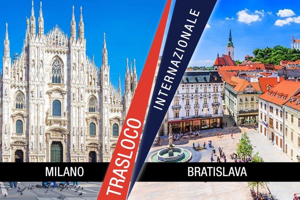 Traslochi Internazionali Milano - Bratislava