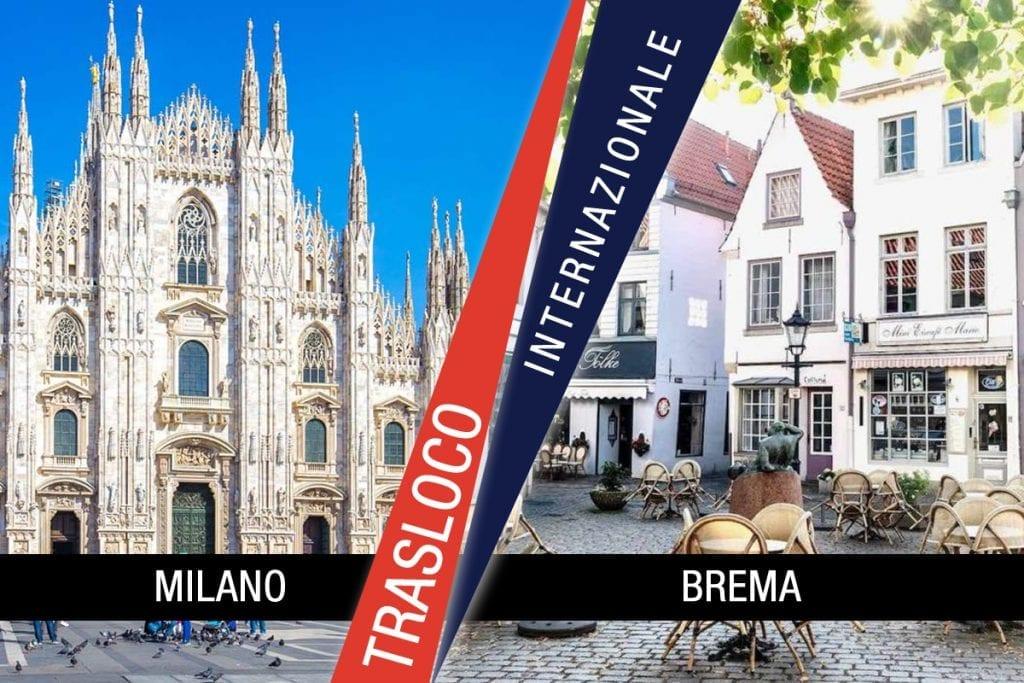 Traslochi Internazionali Milano - Brema