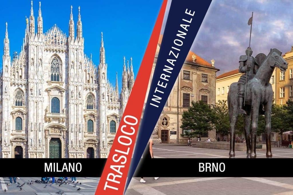 Traslochi Internazionali Milano - Brno