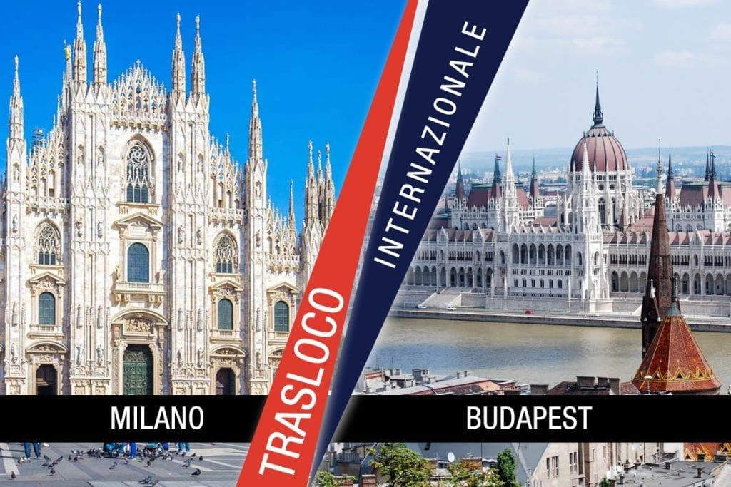 Traslochi Internazionali Milano - Budapest