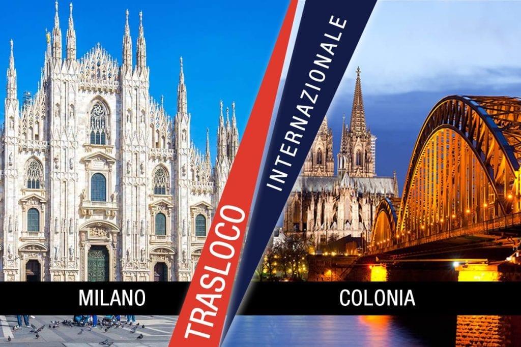 Traslochi Internazionali Milano - Colonia