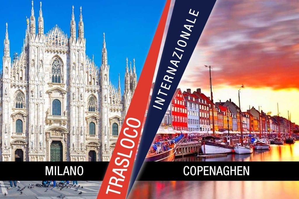 Traslochi Internazionali Milano - Copenaghen