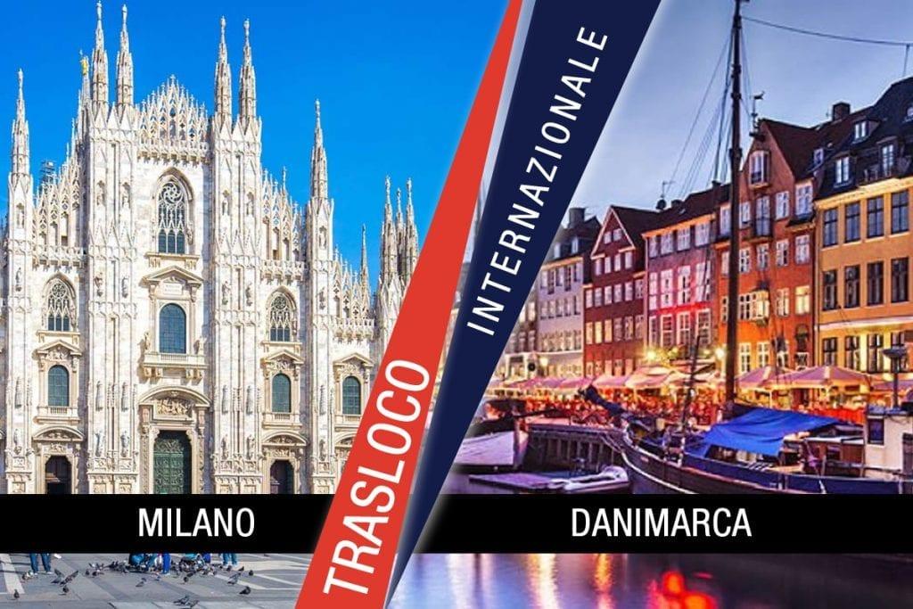 Traslochi Internazionali Milano - Danimarca