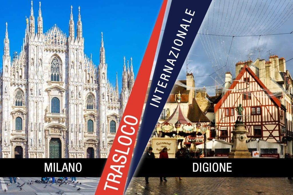 Traslochi Internazionali Milano - Digione