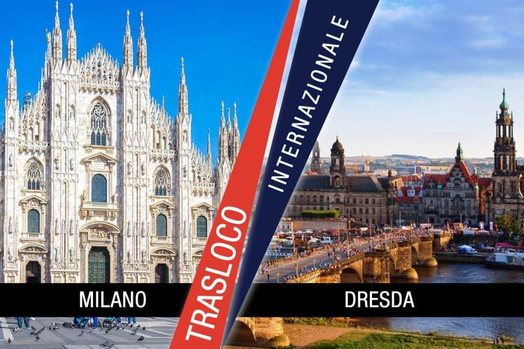 Traslochi Internazionali Milano - Dresda