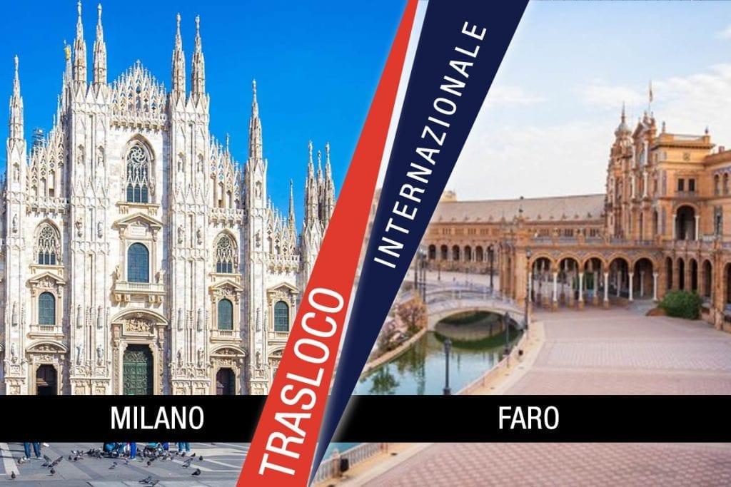 Traslochi Internazionali Milano - Faro