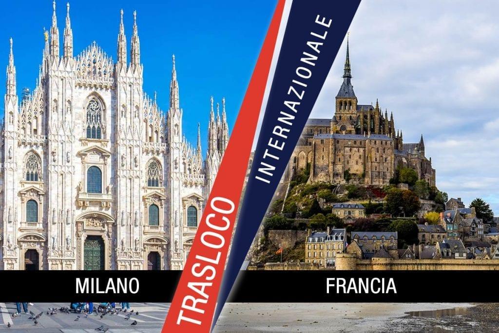 Traslochi Internazionali Milano - Francia