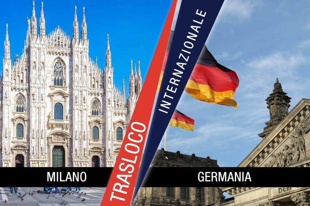 Traslochi Internazionali Milano - Germania