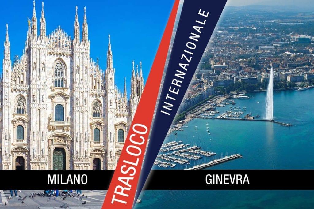Traslochi Internazionali Milano - Ginevra