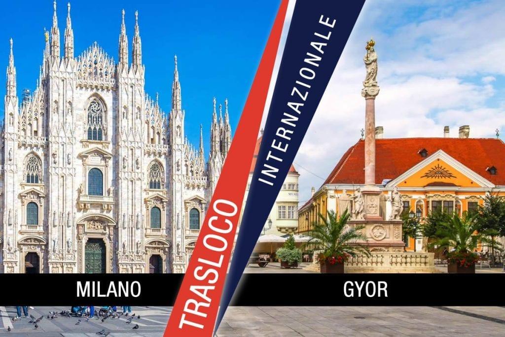 Traslochi Internazionali Milano - Gyor