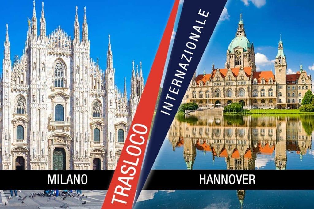 Traslochi Internazionali Milano - Hannover
