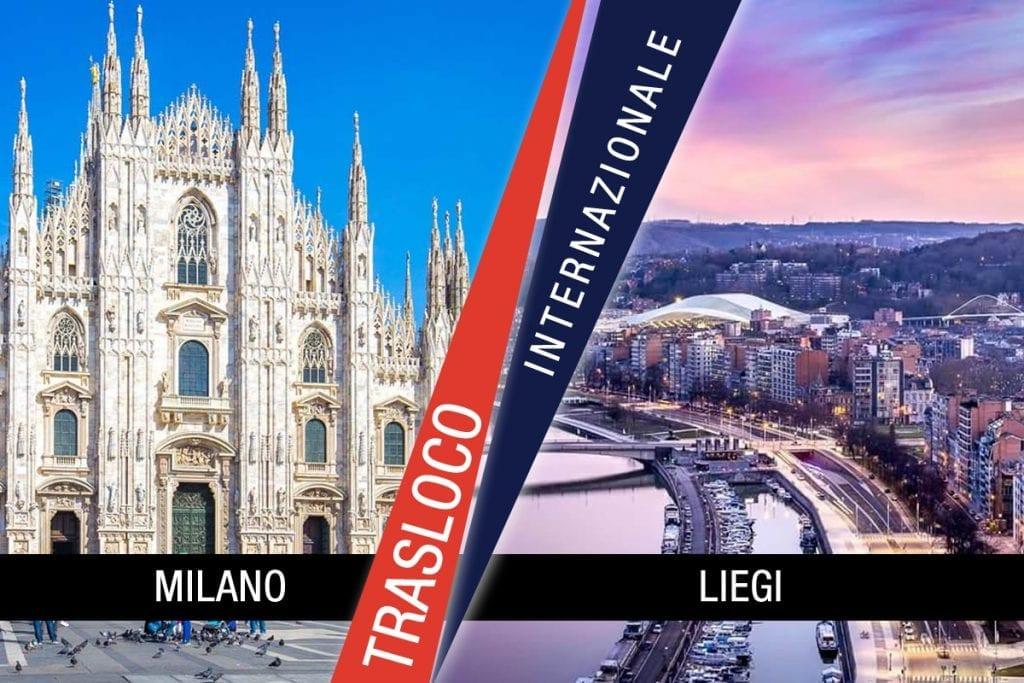 Traslochi Internazionali Milano - Liegi