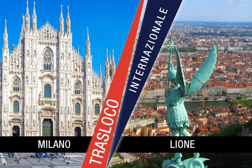 Traslochi Internazionali Milano - Lione