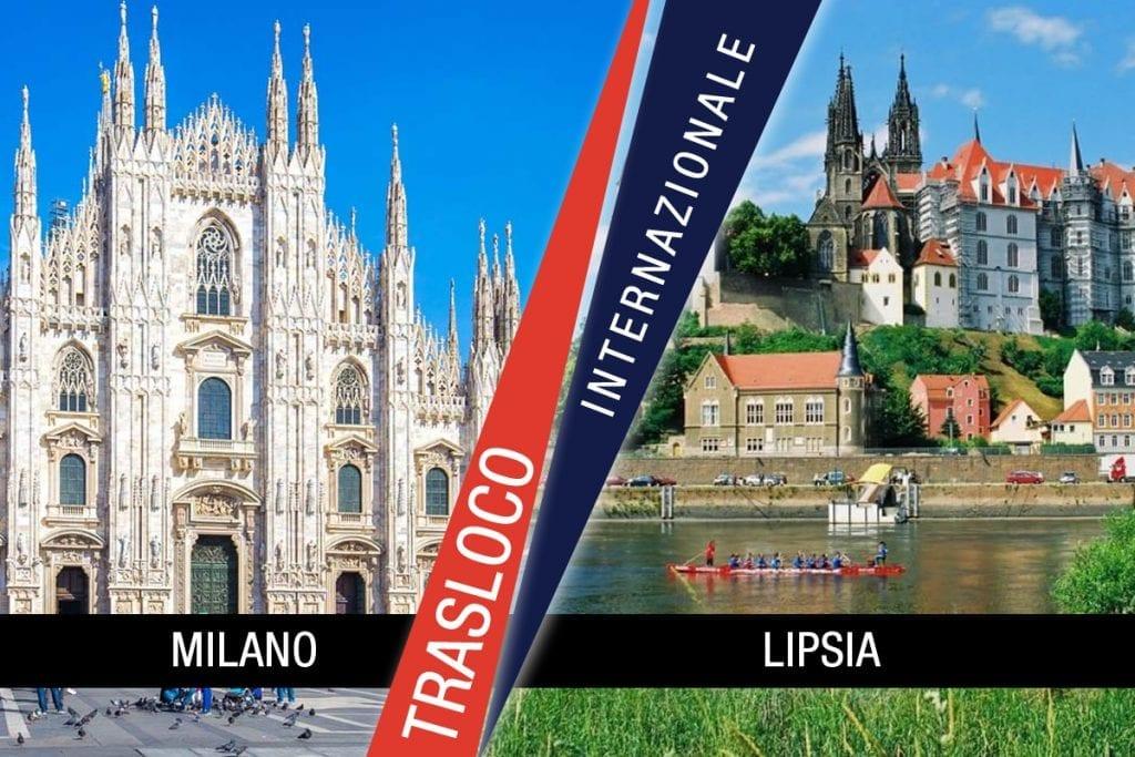 Traslochi Internazionali Milano - Lipsia