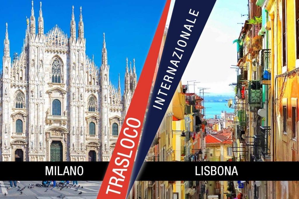Traslochi Internazionali Milano - Lisbona