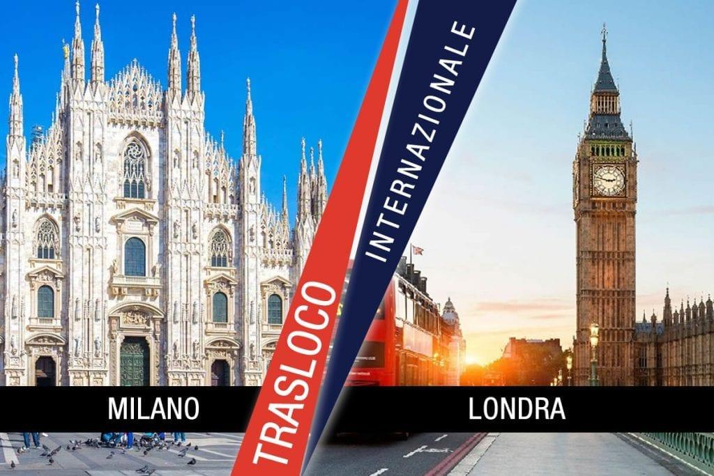 Traslochi Internazionali Milano - Londra