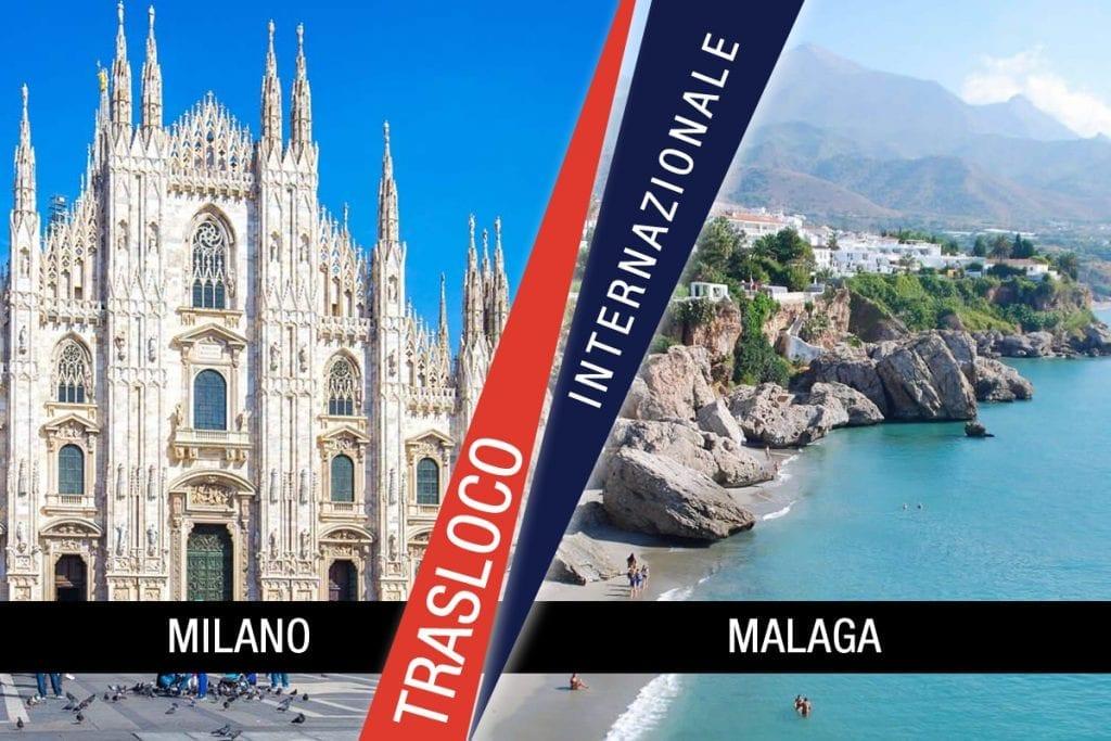 Traslochi Internazionali Milano - Malaga