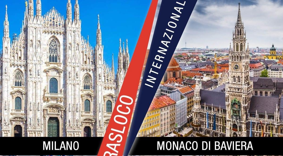 Traslochi Internazionali Milano - Monaco Di Baviera