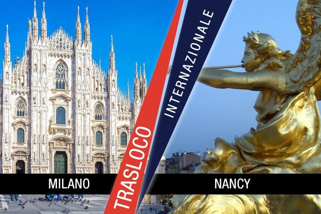 Traslochi Internazionali Milano - Nancy