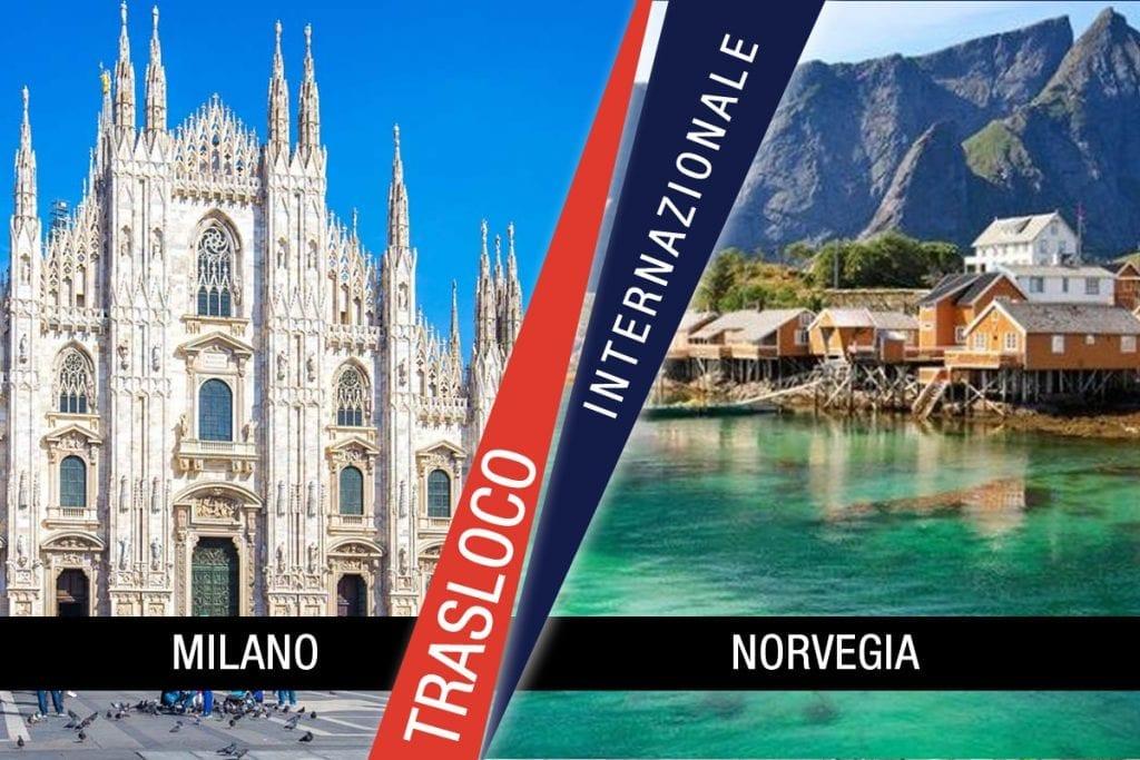 Traslochi Internazionali Milano - Norvegia