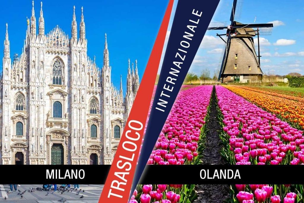 Traslochi Internazionali Milano - Olanda