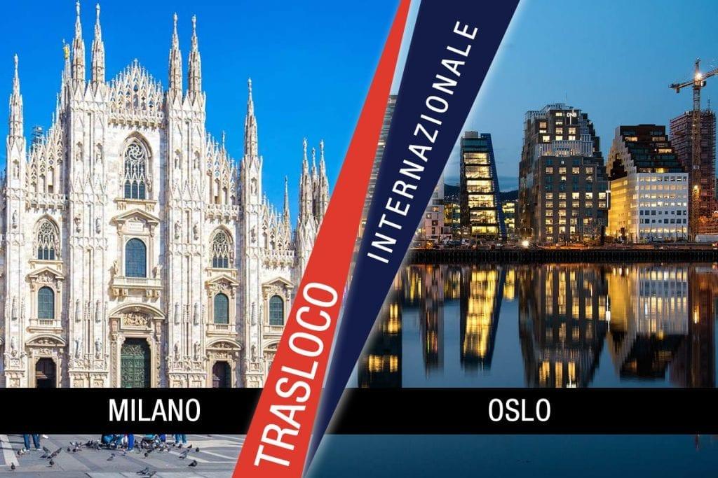 Traslochi Internazionali Milano - Oslo