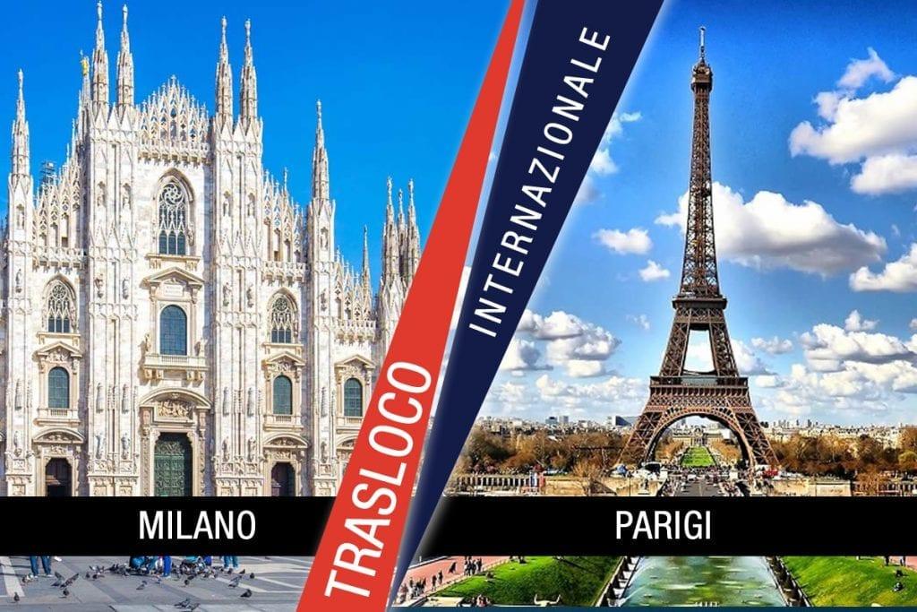 Traslochi Internazionali Milano - Parigi