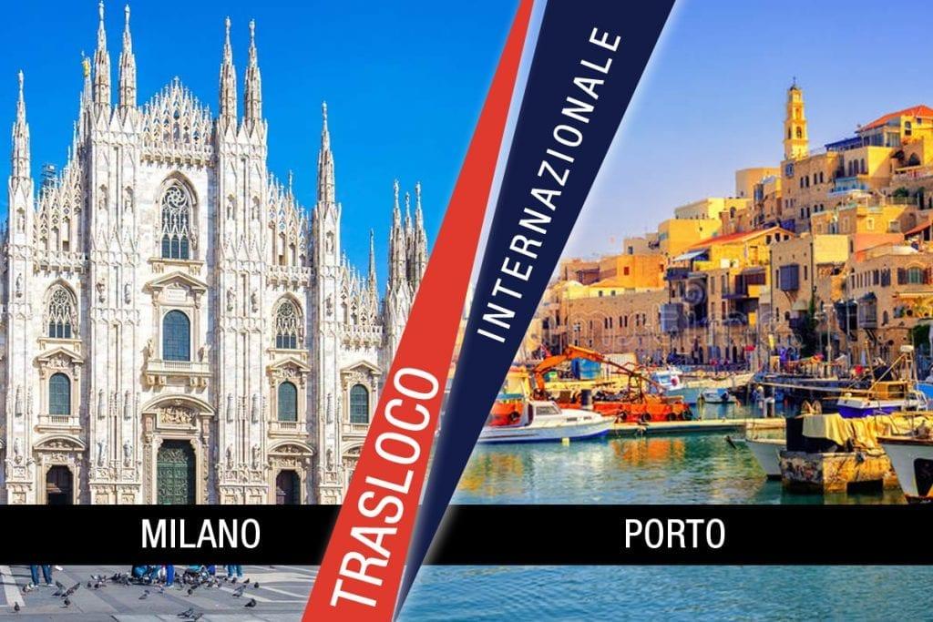Traslochi Internazionali Milano - Porto