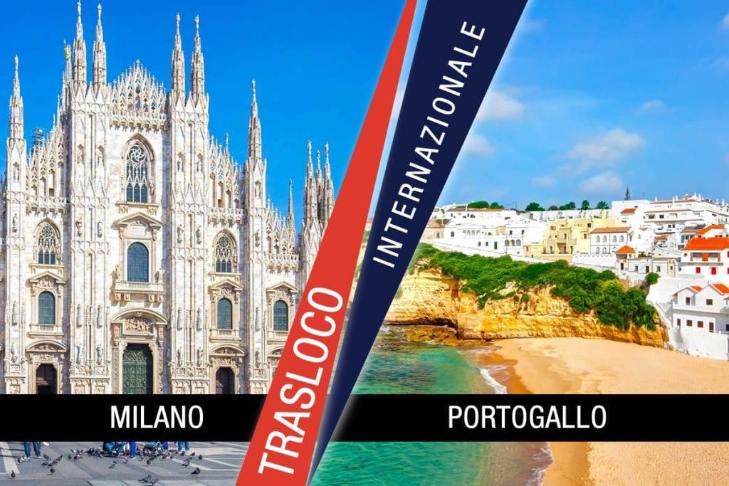 Traslochi Internazionali Milano - Portogallo