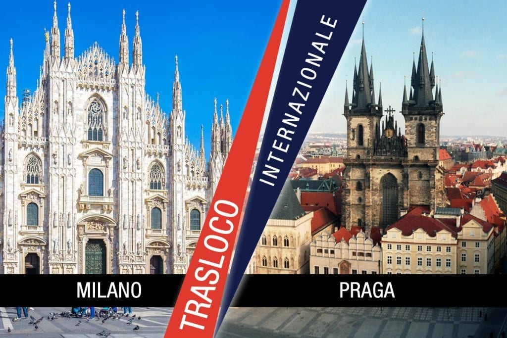 Traslochi Internazionali Milano - Praga
