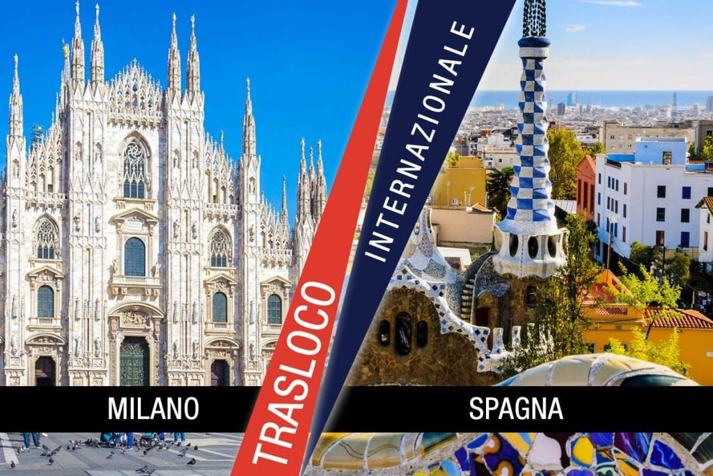 Traslochi Internazionali Milano - Spagna