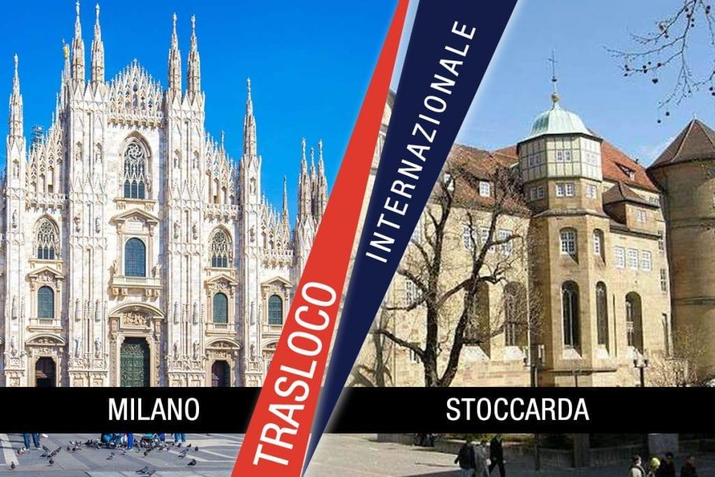 Traslochi Internazionali Milano - Stoccarda