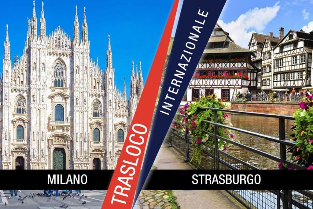 Traslochi Internazionali Milano - Strasburgo