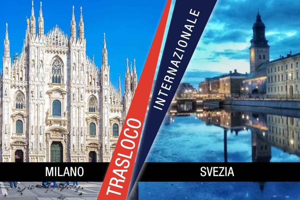Traslochi Internazionali Milano - Svezia