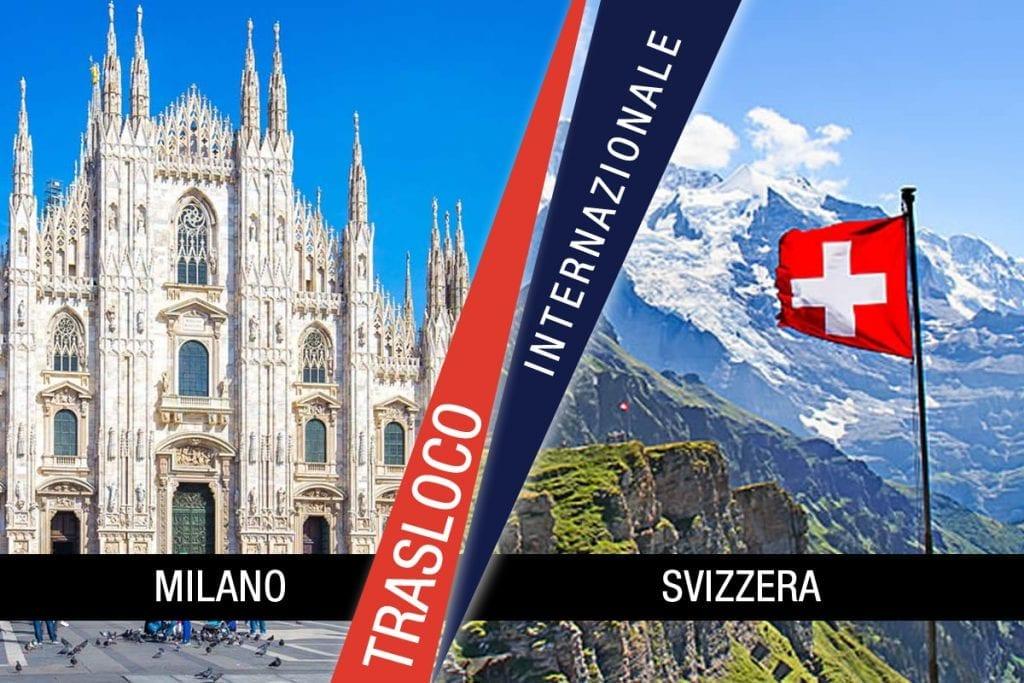Traslochi Internazionali Milano - Svizzera