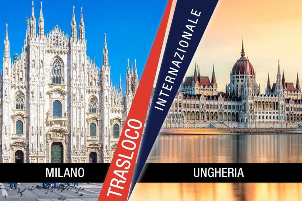 Traslochi Internazionali Milano - Ungheria
