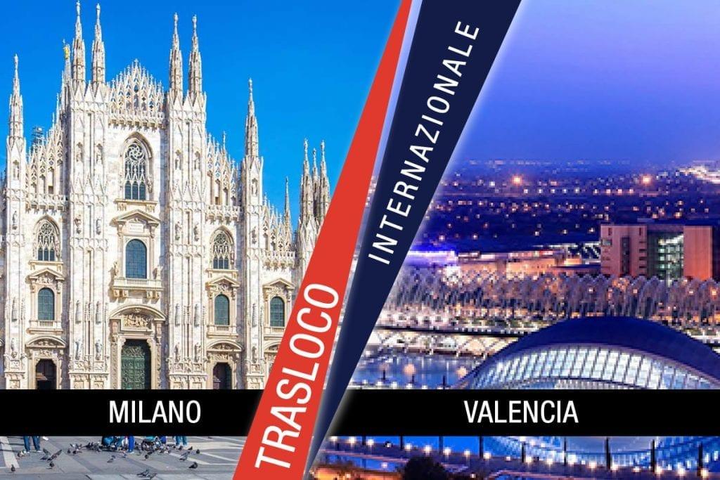 Traslochi Internazionali Milano - Valencia