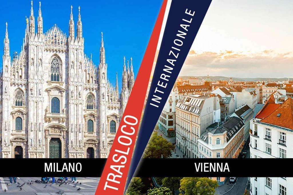 Traslochi Internazionali Milano - Vienna