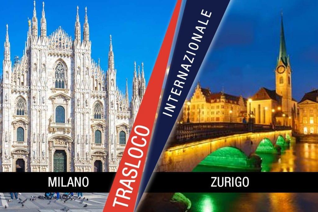 Traslochi Internazionali Milano - Zurigo